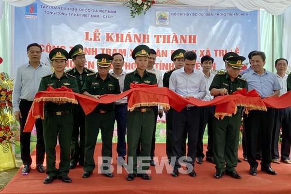 PV GAS tài trợ 4 tỷ đồng xây dựng Trạm xá quân dân y xã Tri Lễ (Nghệ An)