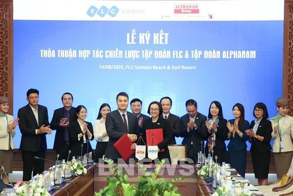 FLC và Alphanam ký thỏa thuận ưu tiên sử dụng, khai thác sản phẩm của nhau