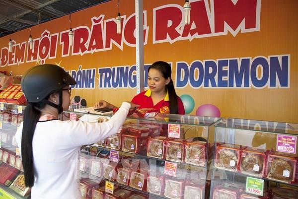 Thị trường bánh Trung thu: Đa dạng sản phẩm chế biến từ nông sản Việt