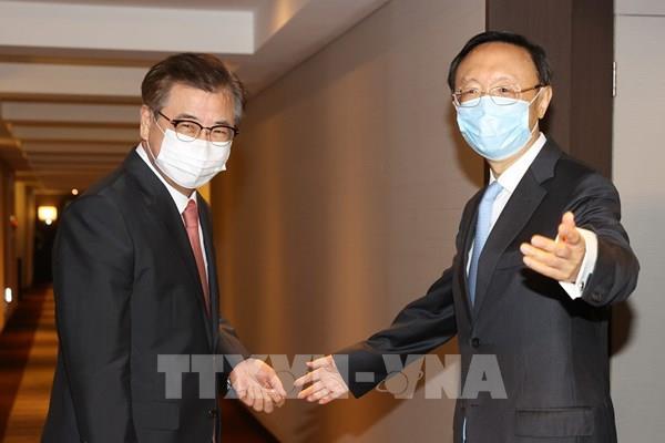 Hàn Quốc, Trung Quốc hội đàm cấp cao về thương mại và ứng phó dịch COVID-19