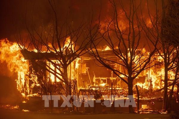Cháy rừng nghiêm trọng đe dọa cuộc sống của hàng trăm ngàn người tại California