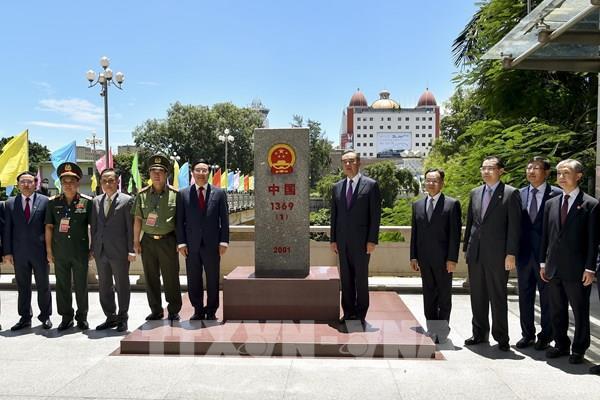 Kỷ niệm 10 năm triển khai văn kiện pháp lý về biên giới đất liền Việt Nam - Trung Quốc