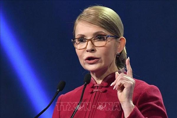 Cựu Thủ tướng Ukraine Yulia Tymoshenko nhiễm virus SARS-CoV-2