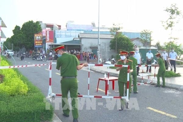 Dỡ bỏ cách ly y tế tại Tổ dân phố Đình Tràng, thành phố Phủ Lý, Hà Nam 