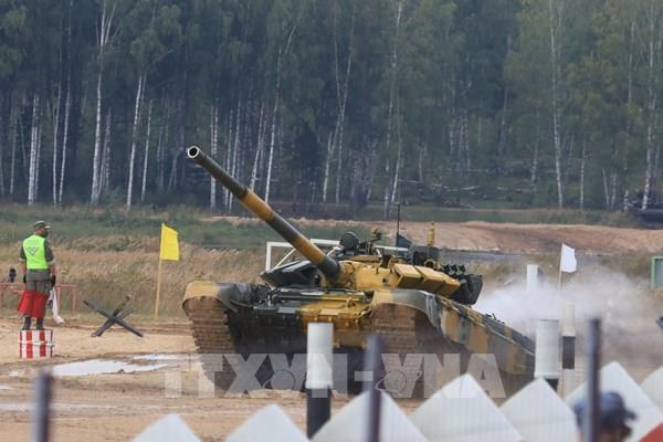 Army Games 2020: Đội tăng Việt Nam dẫn đầu trong trận ra quân thi đấu Tank Biathlon