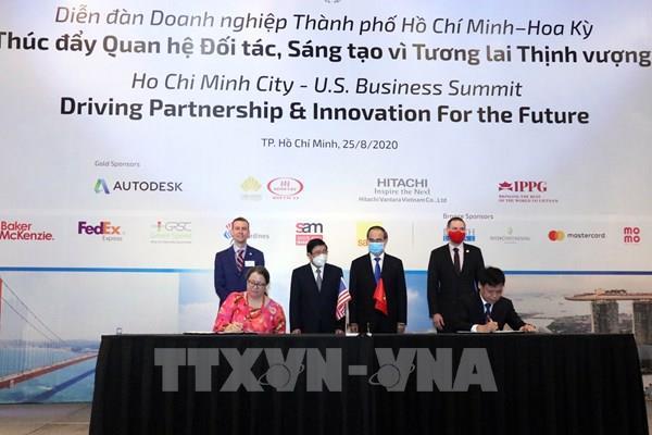Tp. Hồ Chí Minh và Hoa Kỳ hợp tác xây dựng đô thị thông minh