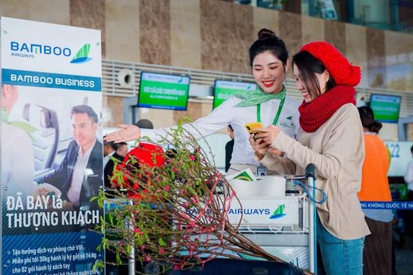 Bamboo Airways tung hàng triệu vé Tết các đường bay từ Hà Nội, Tp. Hồ Chí Minh