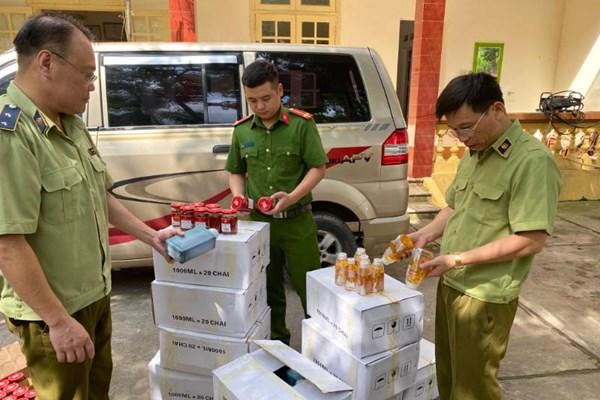 Kịp thời ngăn chặn gần 1.000 sản phẩm, thực phẩm nhập lậu