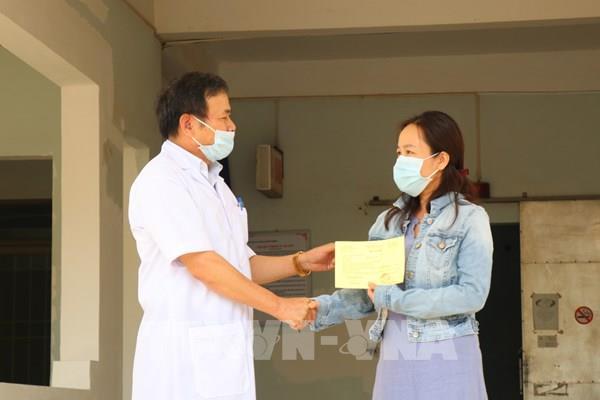Bệnh nhân 601 được điều trị khỏi bệnh và xuất viện