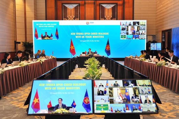 ASEAN 2020: Đối thoại trực tuyến giữa ASEAN và Vương quốc Anh