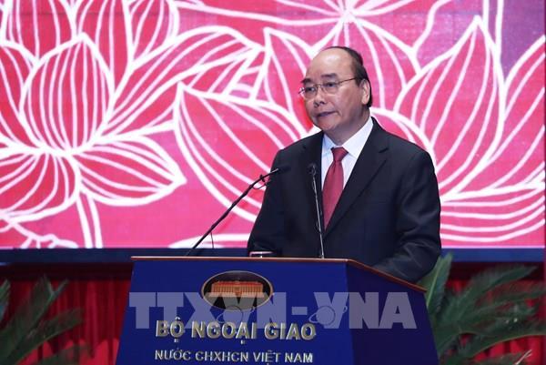 Thủ tướng đề nghị ngành ngoại giao làm tốt 5 nhiệm vụ chính trị