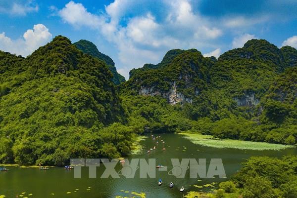 Chiêm ngưỡng mùa thu tuyệt đẹp ở Tràng An