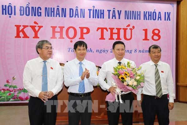 Ông Nguyễn Thanh Ngọc được bầu giữ chức Chủ tịch UBND tỉnh Tây Ninh