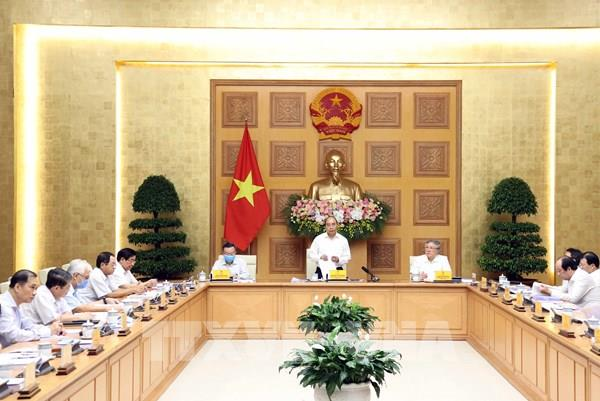 Thủ tướng chủ trì phiên họp Tiểu ban KT-XH phục vụ Đại hội Đảng toàn quốc lần thứ XIII