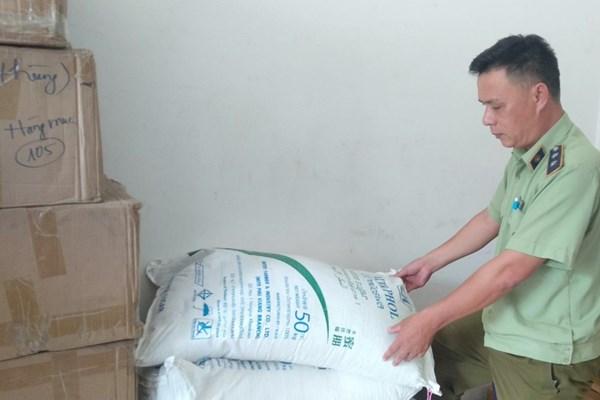 Phát hiện 300kg đường nghi nhập lậu tại Huế