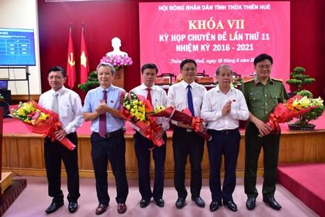 Ông Nguyễn Thanh Bình được bầu làm Phó Chủ tịch UBND tỉnh Thừa Thiên-Huế