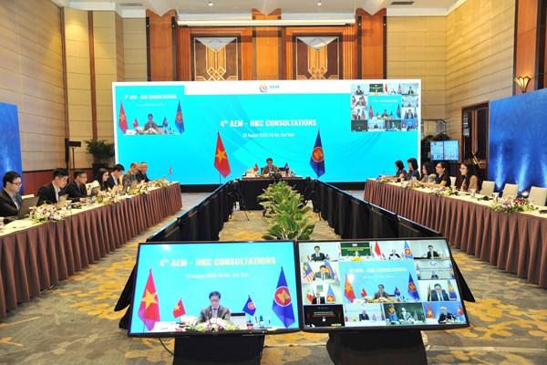 ASEAN 2020: Đẩy nhanh tiến độ tham vấn để đưa Hiệp định AHKFTA và AHKIA vào thực thi