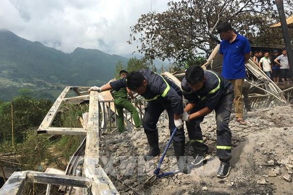 Tìm thấy thi thể nạn nhân vụ cháy lớn tại Lào Cai