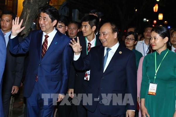 Thủ tướng Shinzo Abe và mong muốn làm sâu sắc hơn quan hệ Việt Nam-Nhật Bản