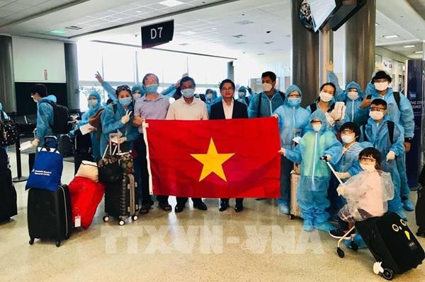Đưa gần 350 công dân Việt Nam từ Hoa Kỳ về nước