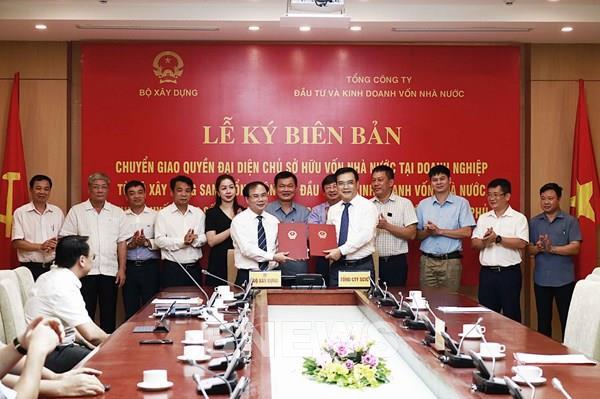 Bộ Xây dựng chuyển giao 4 Tổng công ty về SCIC