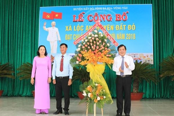 Bà Rịa-Vũng Tàu: 39/45 xã đạt chuẩn nông thôn mới