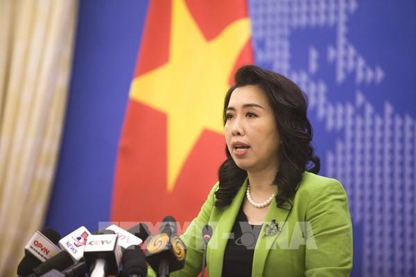 Phản ứng của Việt Nam trước việc Trung Quốctập trận quân sự, bắn tên lửa tại Biển Đông