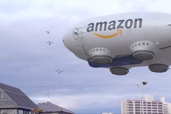 FAA cấp phép cho Amazon giao hàng bằng máy bay không người lái
