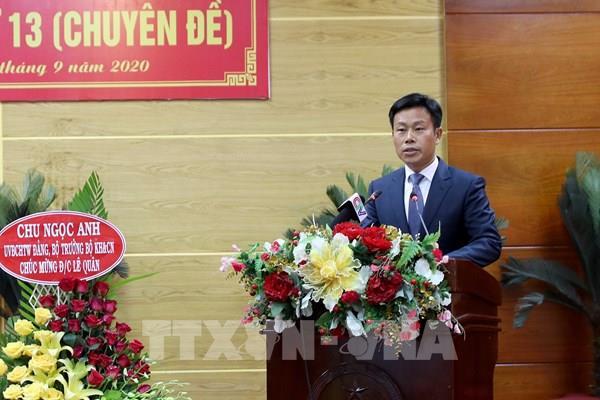Đồng chí Lê Quân được bầu giữ chức Chủ tịch UBND tỉnh Cà Mau nhiệm kỳ 2016-2021