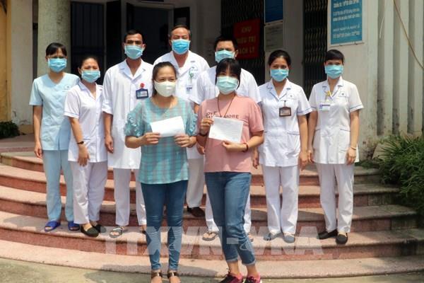 2 bệnh nhân COVID-19 tại Nam Định đã được xuất viện