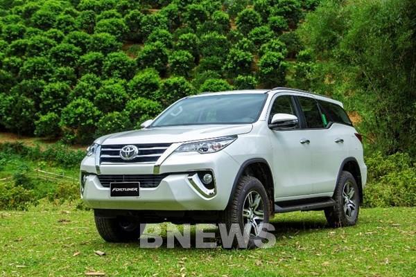 Khách hàng mua Toyota Fortuner có thể tiết kiệm được 125 triệu đồng