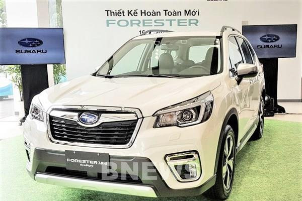 Subaru ưu đãi đặc biệt đến 255 triệu đồng cho khách mua xe Forester