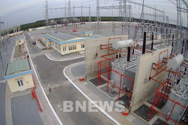 Đóng điện vận hành TBA 500 kV Chơn Thành và đấu nối
