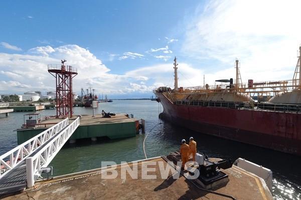 Kho cảng PV GAS Vũng Tàu đạt đỉnh sản lượng cung cấp khí hóa lỏng