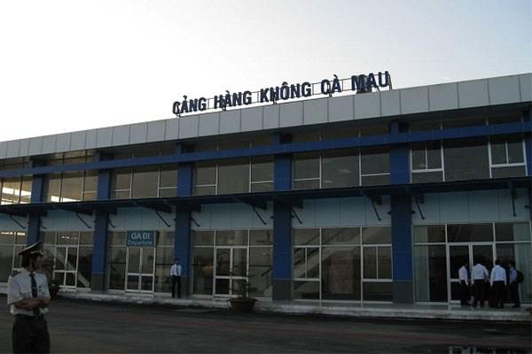 UBND tỉnh Cà Mau kiến nghị nâng cấp sân bay Cà Mau