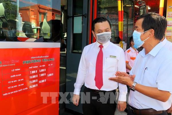 Thừa Thiên - Huế triển khai hoạt động 5 tuyến xe buýt nội tỉnh