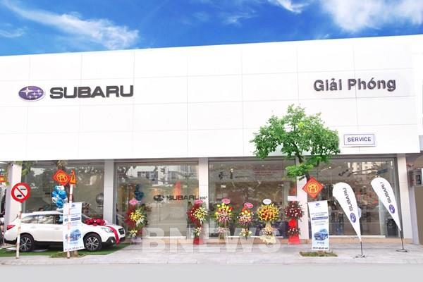 Subaru khai trương cơ sở thứ 3 ở Hà Nội - đại lý Subaru Giải Phóng