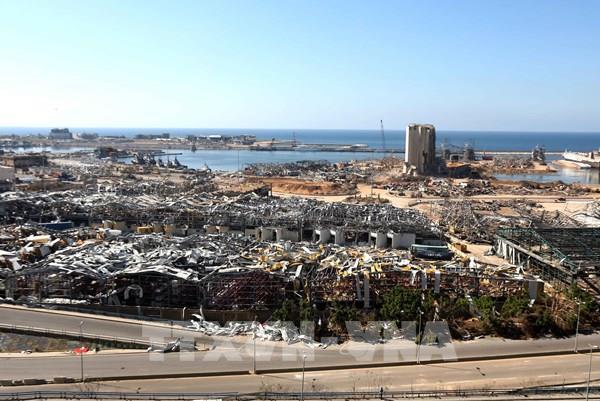 Vụ nổ ở Beirut: Quân đội Liban xử lý hơn 4 tấn vật liệu nổ gần cảng Beirut