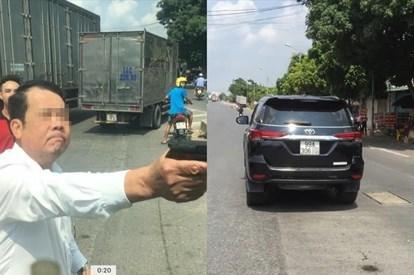 Bắt khẩn cấp đối tượng dùng súng đe dọa tài xế xe tải ở Bắc Ninh