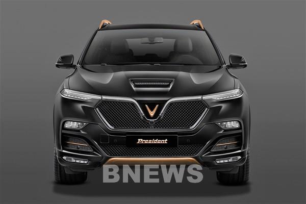 VinFast chính thức công bố mẫu SUV VinFast President phiên bản giới hạn