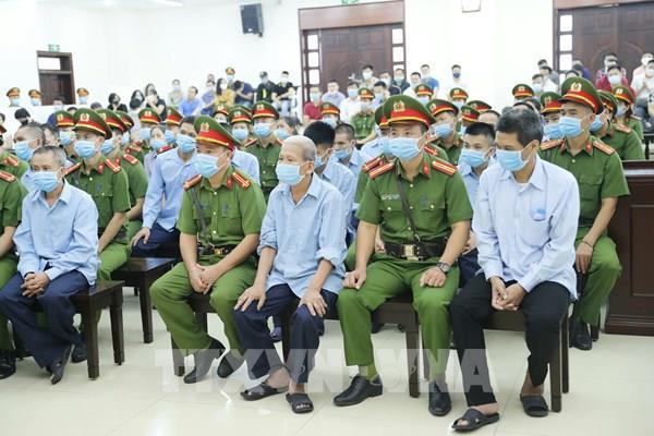Xét xử vụ án tại Đồng Tâm: Nhóm bị cáo thừa nhận hành vi phạm tội