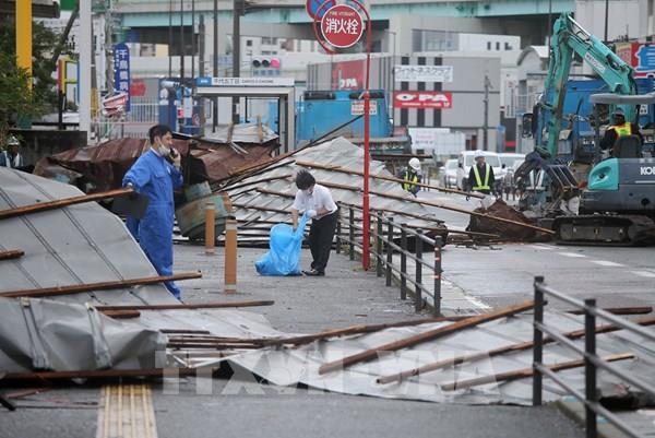Cập nhật thông tin tìm kiếm 2 thực tập sinh Việt Nam mất tích trong bão Haishen