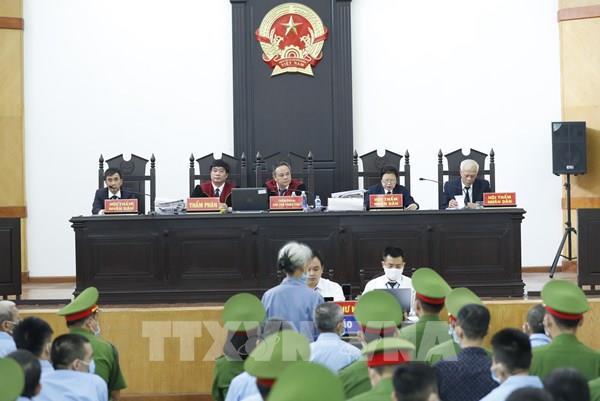 Xét xử vụ án tại Đồng Tâm: Viện Kiểm sát đổi tội danh truy tố đối với 19 bị cáo