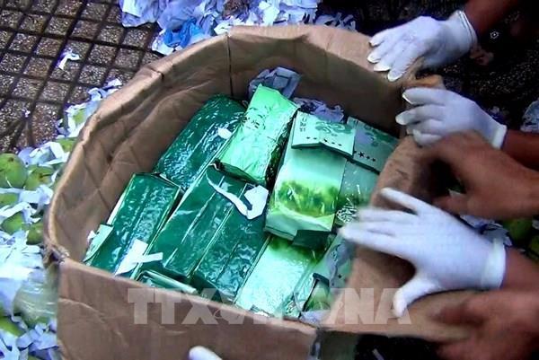 Triệt phá đường dây lớn vận chuyển trái phép ma túy từ nước ngoài vào Việt Nam