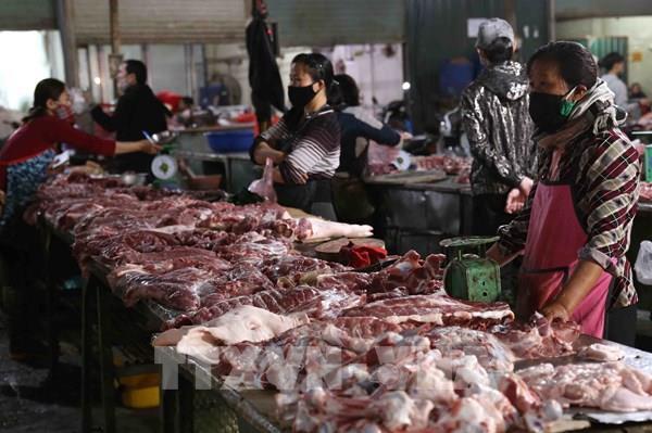 Cần thời gian để giảm giá thịt lợn tương ứng với giảm giá lợn hơi