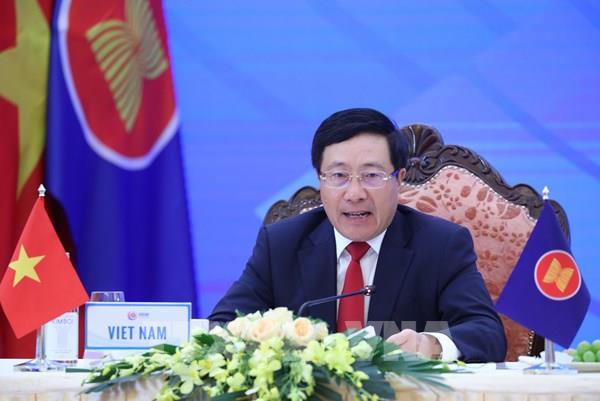 ASEAN 2020: Hội nghị trực tuyến Bộ trưởng Ngoại giao ASEAN-Hoa Kỳ và ASEAN-Canada