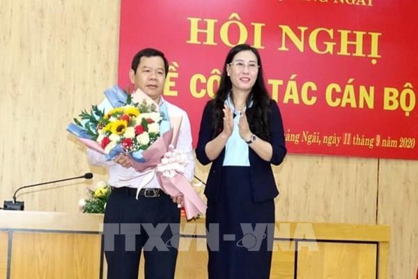 Đồng chí Đặng Văn Minh được bầu giữ chức Phó Bí thư Tỉnh ủy Quảng Ngãi   