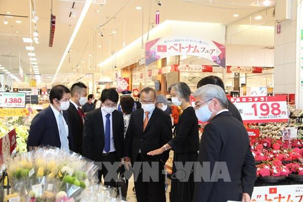 Triển lãm hàng Việt tại hệ thống 40 siêu thị AEON trên toàn nước Nhật