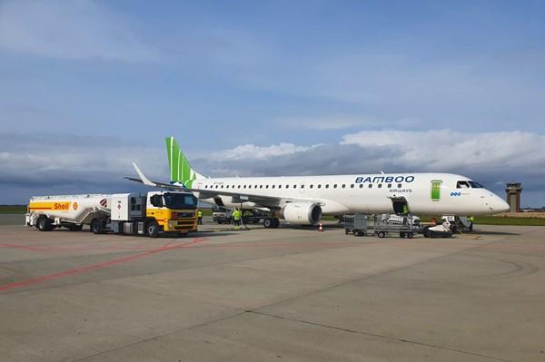 Bamboo Airways đón máy bay phản lực hiện đại Embraer E195, sẵn sàng bay thẳng Côn Đảo