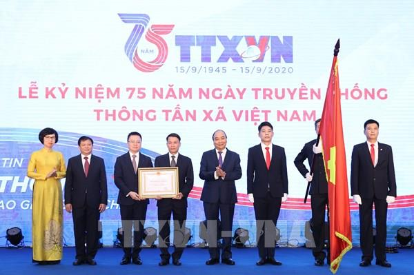 Toàn văn bài phát biểu của Thủ tướng tại Lễ kỷ niệm 75 năm Ngày Truyền thống TTXVN